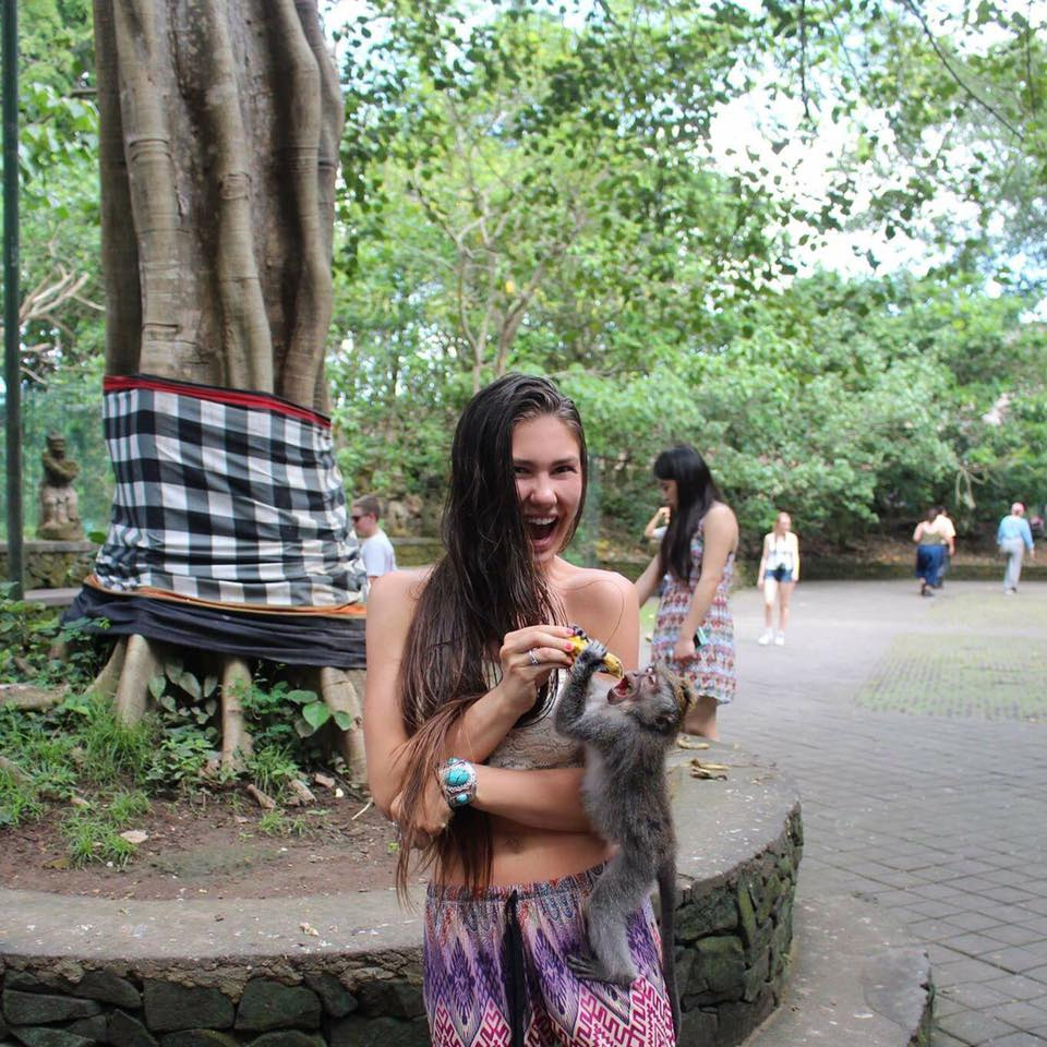 Skyler's Bali Adventures: Monkey Forest