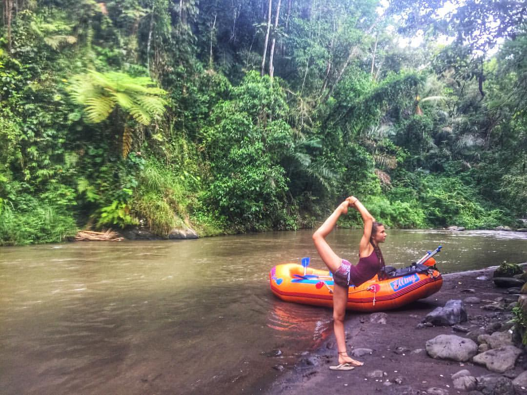 Skyler's Bali Adventures: White Water Rafting