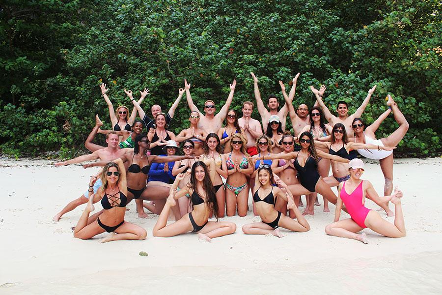 Luxury Yoga Retreat Family and Yoga Groups