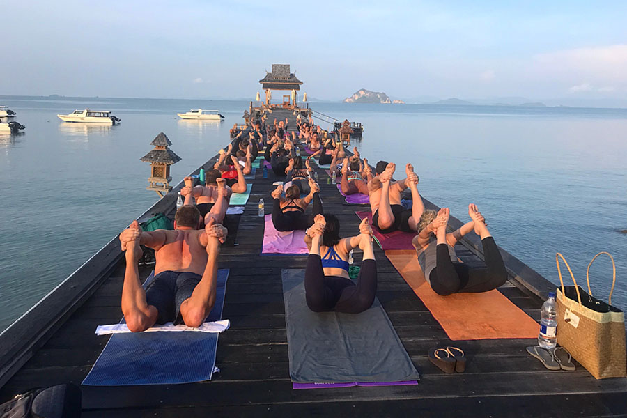 Luxury Yoga Retreat Family and Yoga Groups